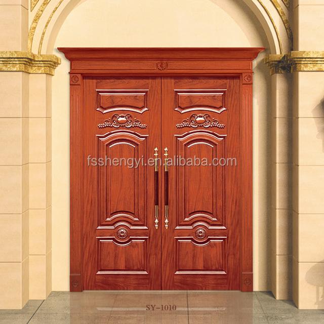 Buy cheap china solid metal doors products find china solid metal china factory solid wood new design double exterior doorsmetal double doors exterior eventshaper