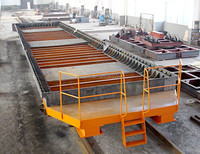 Electric Flat Car for Handling in Warehouse