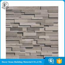 Made of natural marble original ecology stone stacked panel