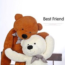 HI big normal model stuffed teddy bears without filling soft animal skins on sale