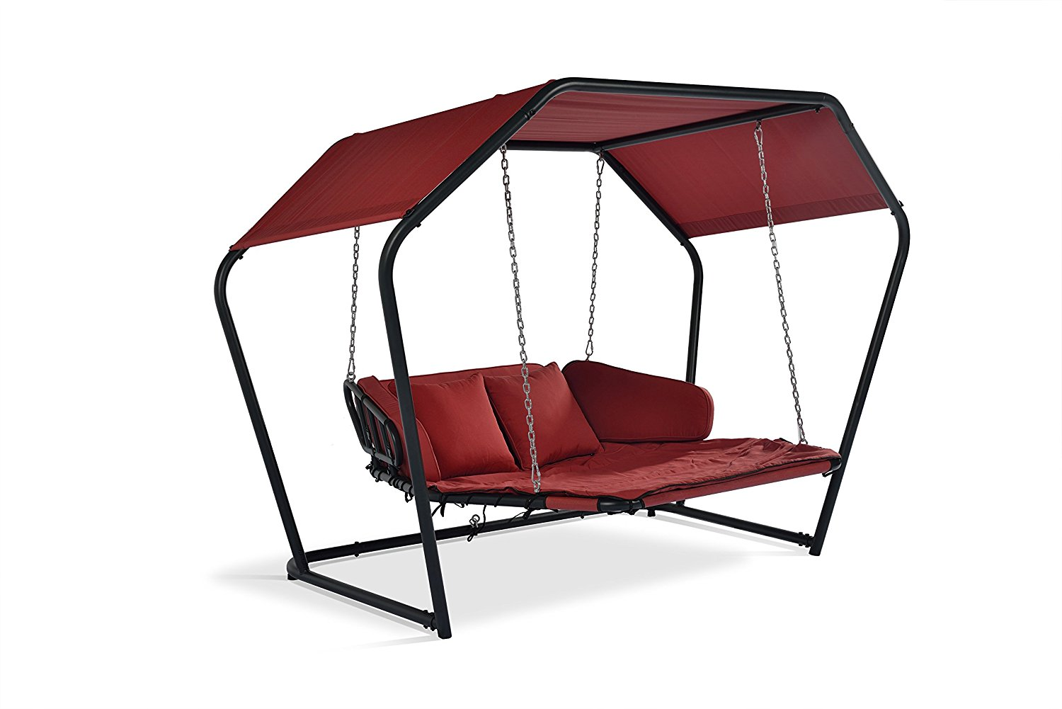 Buy Mentoriend Diamond Swing Chair,Swing Bed,Outdoor Patio Bed,With ...