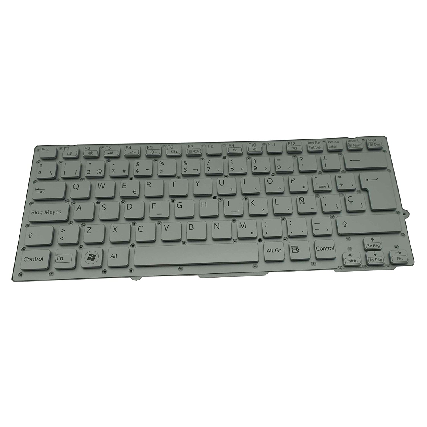 New US Laptop Replacement Keyboard for Sony SVF15 SVF1521C5E SVF15218CXW SVF15E SVF153A2TT SVF152C1JN SVF1521A6EW svf1521p1rw SVF1521T2EB SVF15328 SVF15414CXW SVF152C29L with C Shell Black
