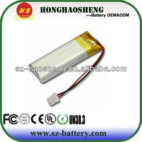 OEM ODM cylinder lithium batter 3.7v 2100mah li-ion polymer battery for tablet pc