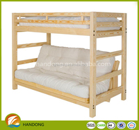 High quality wood home furniture sofa bed Paddle bunk bed sofa bed