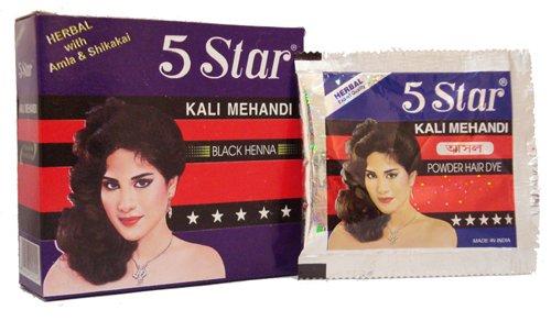 461cc4465 5 Star Herbal Kali Mehendi Hair Colour - Buy Hair Colour / Mehendi ...