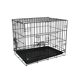 Black classic custom large animal cages dog crates for big dogs kennel
