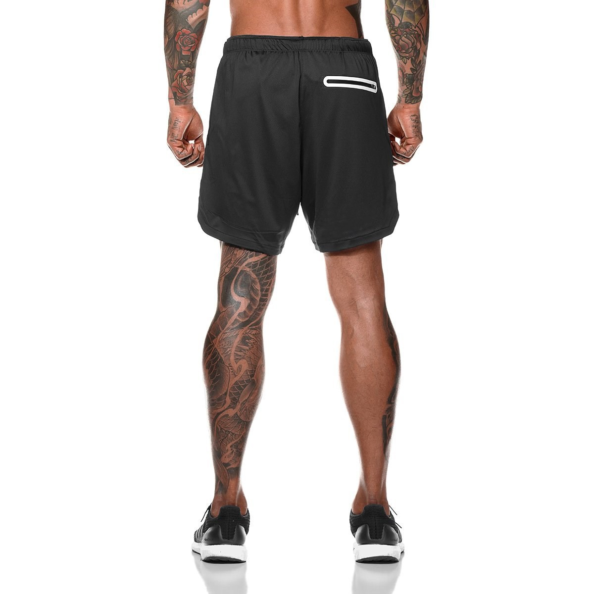 Mens running shorts workout Custom Outfit Training dry fit gym short shorts