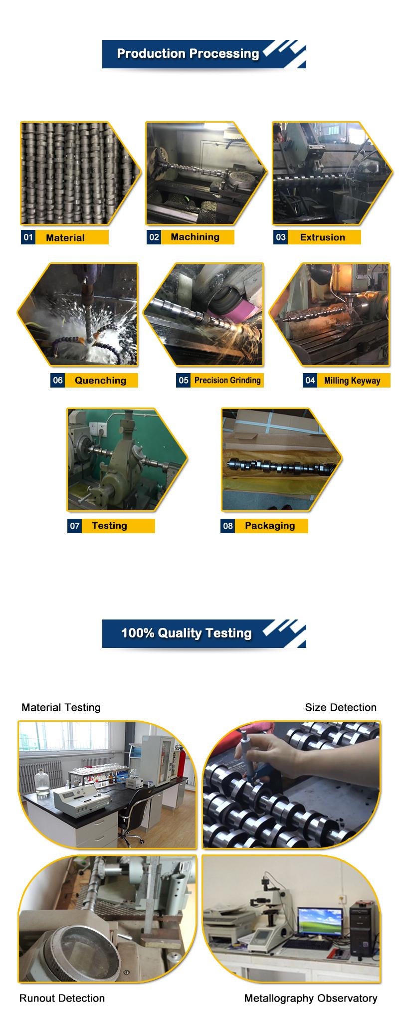 Trong Kho Động Cơ Diesel Trục Cam Cho TOYOTA 2TR 13501-75050