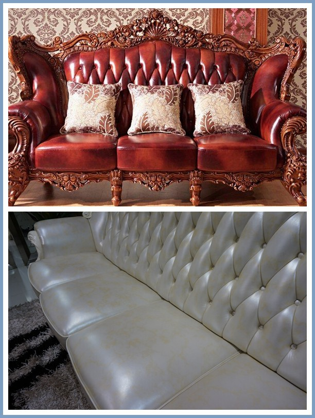 1.2mm cowhide sofa microfiber leather