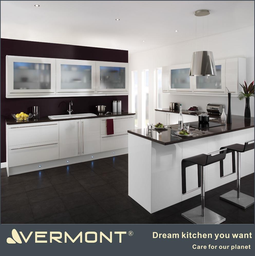 Modern Fashionable Glass Display Cabinet Aluminum Glass Kitchen Cabinet  Vt-kc-107 - Buy Glass Display Kitchen Cabinet,Aluminum Glass Kitchen ...