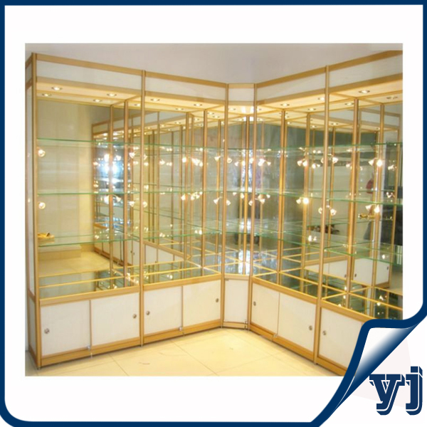 Wall showcase design wall mount glass display cabinets, glass ...