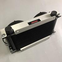 Jagrow performance engine transmission Oil Cooler with fan
