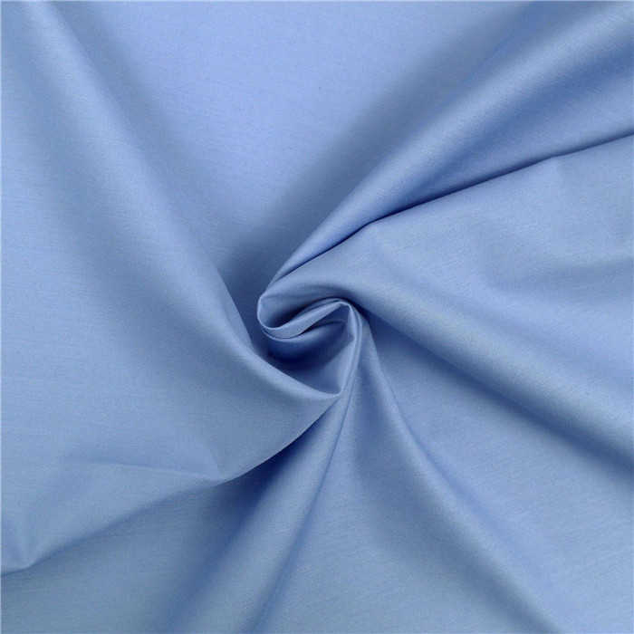 high quality spun polyester fabric for robe  fabric