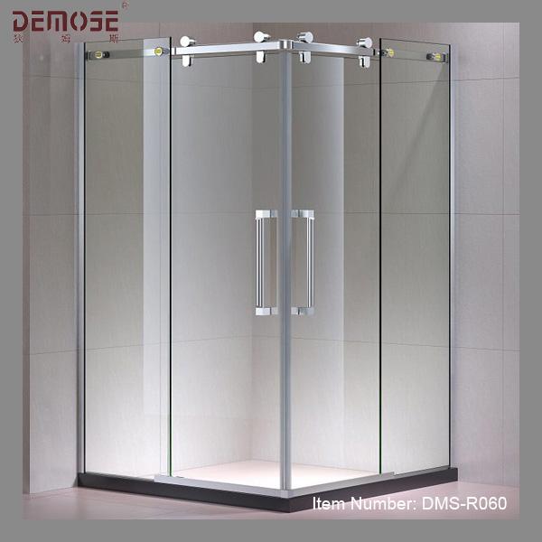 puerta corredera de cristal estndar de ducha sin marco puerta corredera de cristal