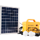 JCNS 12V Module Solar Generator for Energy Storage for home for Camping and Emergent Blackout with LED light and radio