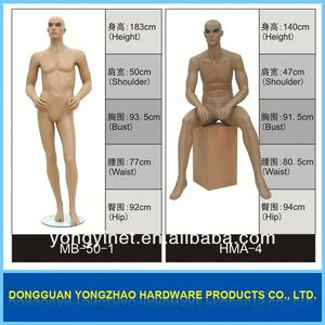 International fashion mannequin!!cheap men body model