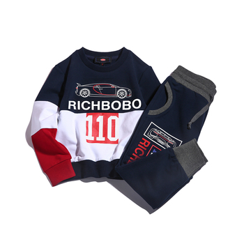 2019 fashion high quality boutique boys clothing sets winter sportswear for kids boys baby