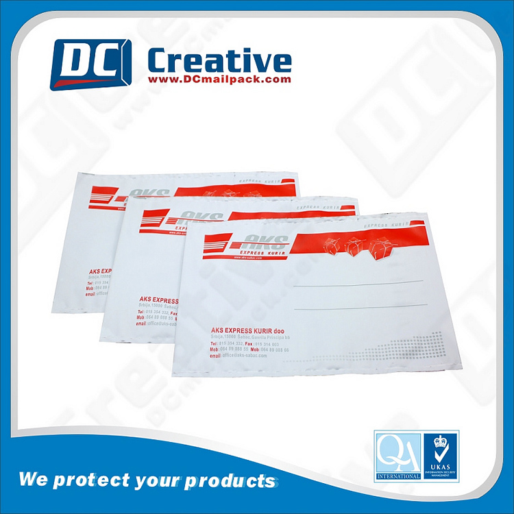 Customized Perfect Printing Air Mail Shipping Plastic Envelopes
