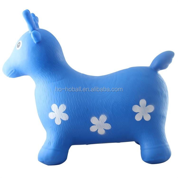 PVC inflatable animal hopper for kinds