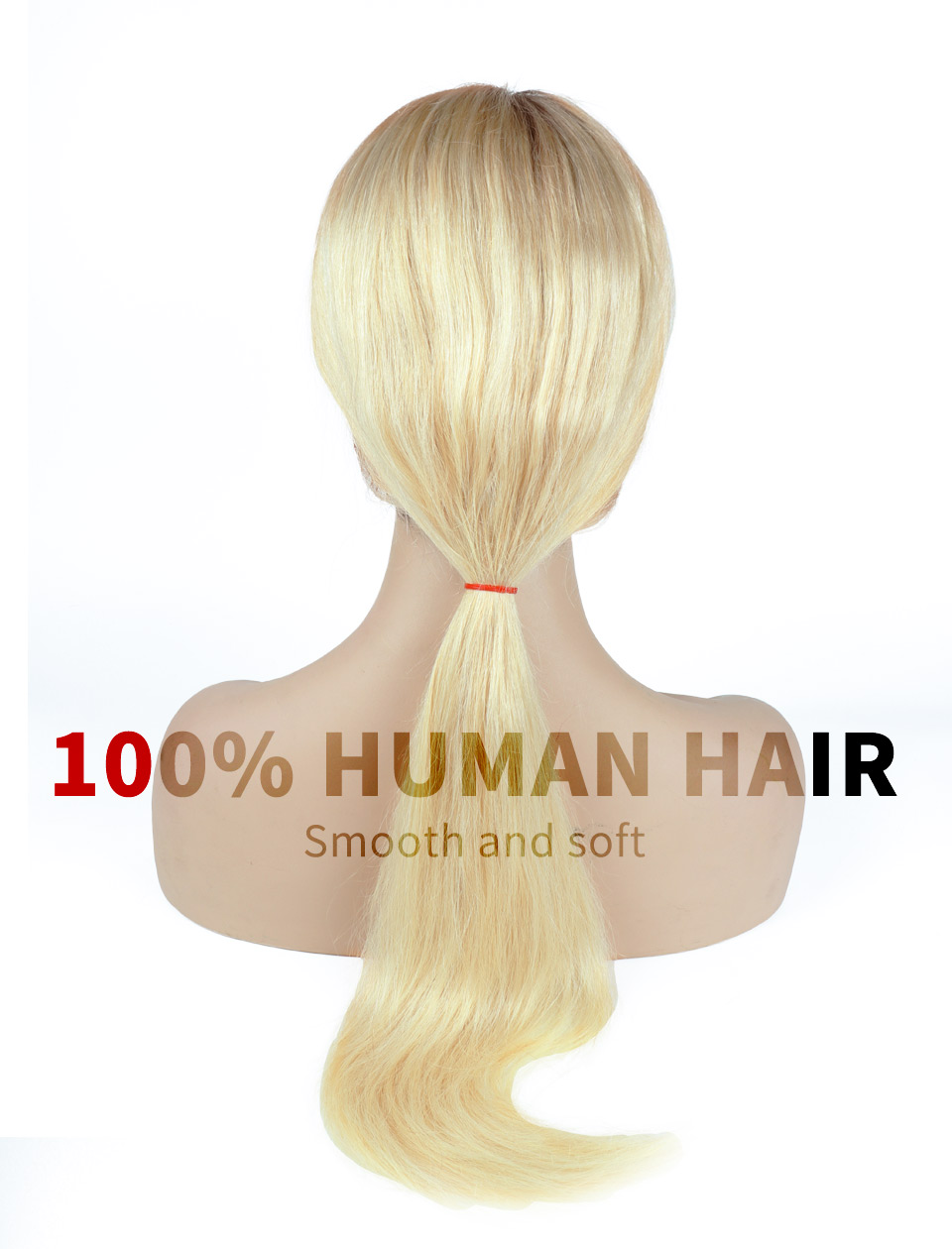 Preplucked Bleach Knot Lace Wigs Silky Straight 100% Human Hair Hair Online Ombre Blonde Hair 1b 613 Full Lace Wig