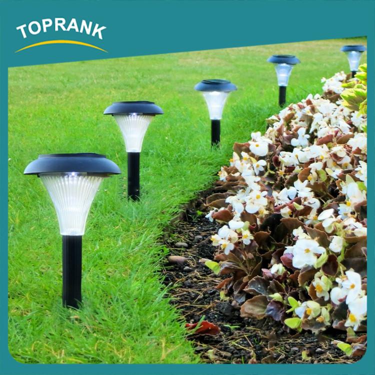 Modern decoration plastic solar lights outdoor garden solar stake lights buy solar stake - Modern outdoor solar lights ...