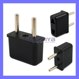 US-EU Travel USA to Europe Power Plug Adapter