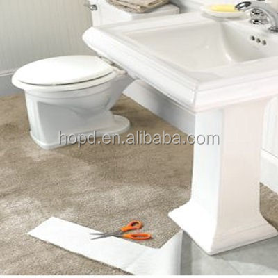 Home used washable bathroom carpet with PVC back