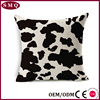 Custom Wholesale Cow pattern Home Decoration Cushion Cover