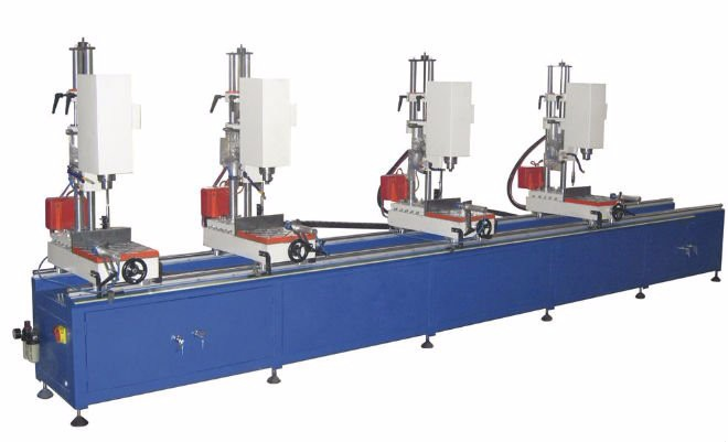Curtain Wall Fabrication Machine Multi-head Combination Drilling ...