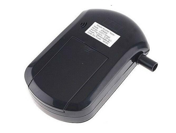 Портативный алкоголя в выдыхаемом воздухе тестер дует цифровой дисплей вождение в нетрезвом виде детектор