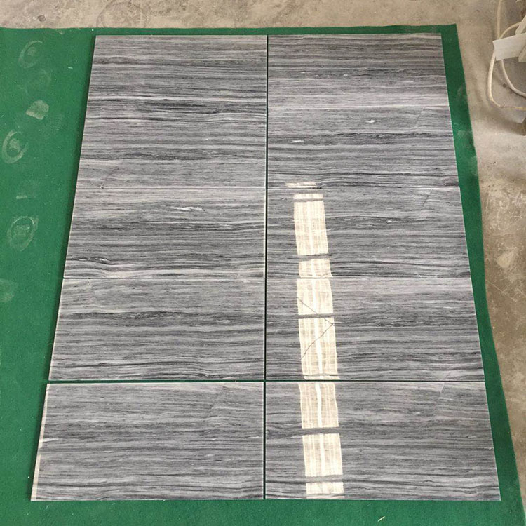 Local Quarry China Natural Grey Veins Marble