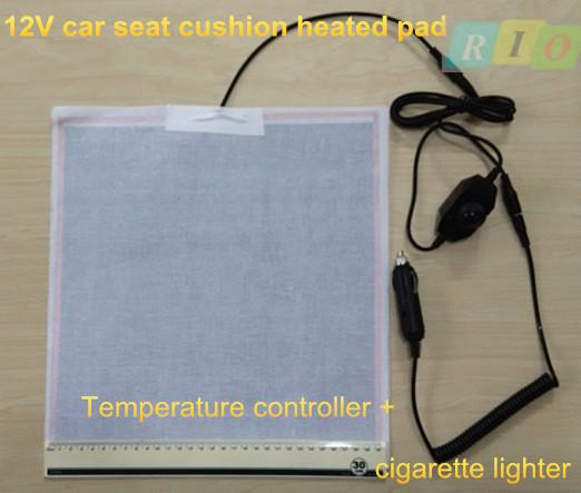 Carbon Fiber Universal Heated Seat Heater Kit Car Cushion: 12v Car Heated Pad Car Heated Seat Cushion Carbon Fiber