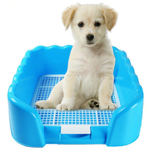 Keep Paws Dry And Easy Clean up Pet Dogs Training Toilet Loo Indoor Dog Potty