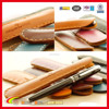 Hot selling leather single pen holder, high quality hand made genuine leather ball pen case