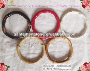 fancy natural bamboo bangle,exquisite bamboo wood bangle