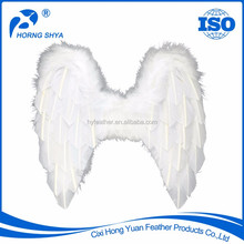 Manufacturer Wholesale K2585 Fashion High Quality Popular Decorative White Ostrich Feather Wings