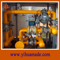 china good price cng/lpg pressure regulator/ reducing station/cabinet/ container