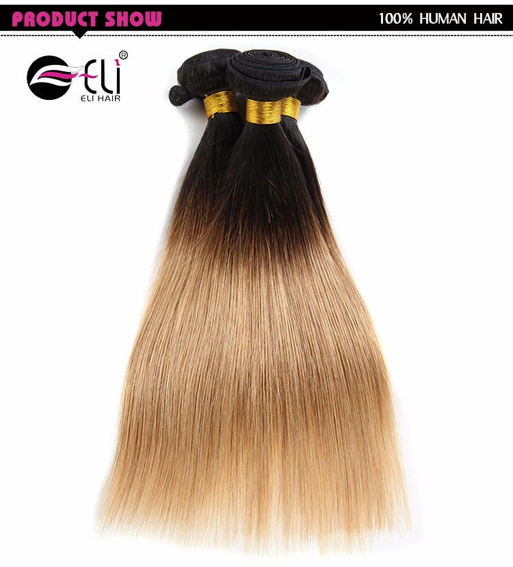 Sew In Human Hair Weave Ombre Hair Weavestwo Tone Braiding