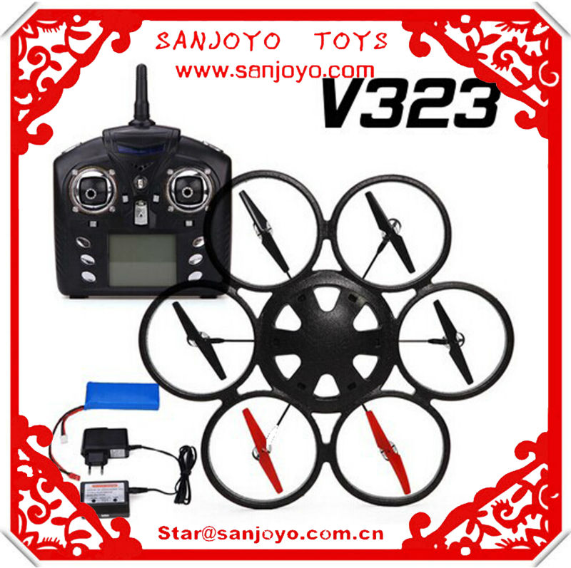 WL Toys V323 2.4GHZ Radio Big Quadrocopter Headless Mode RTF RC Brushless Motor Quadcopter