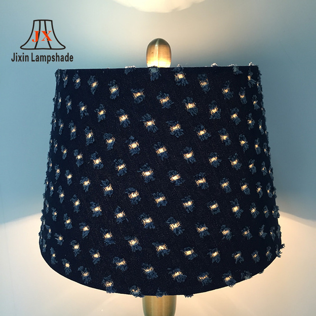 Buy cheap china lamp light parts products find china lamp light wholesale lamp shade blue linen fabric lighting parts lamp shade aloadofball Images