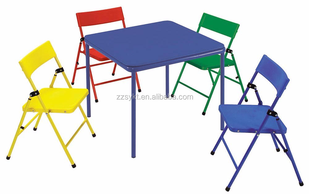 Colorful Children Furniture Metal