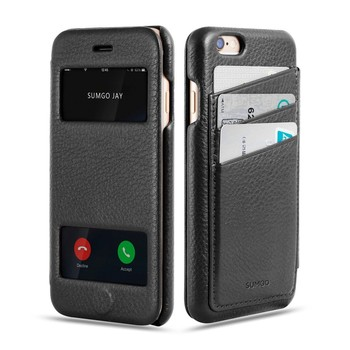 Genuine leather for wallet iphone 6 plus leather case, for Leather case iphone 6 plus