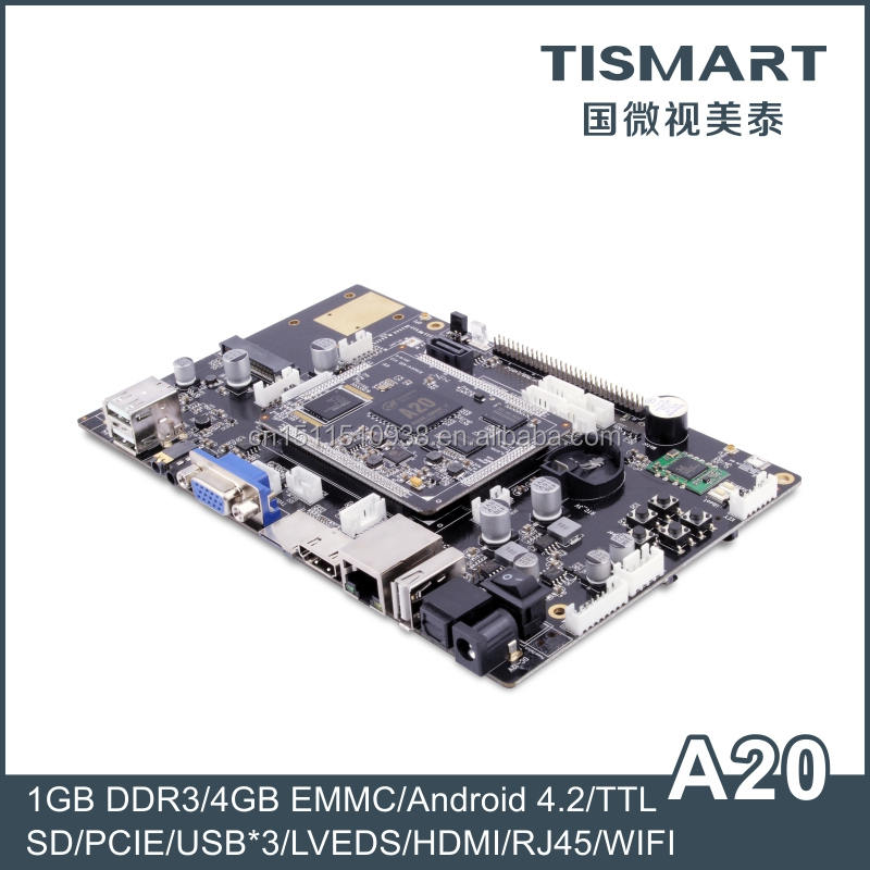 TISMART Dual Core ARM Development Board With Wifi 3G GPS Bluetooth