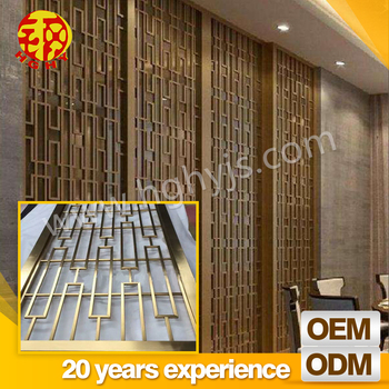 Commercial Metal Temporary Restaurant Moving Wall Partitions Room