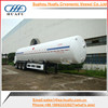Hot selling 15m3 cryogenic liquid carbon dioxide tank trailer with low price