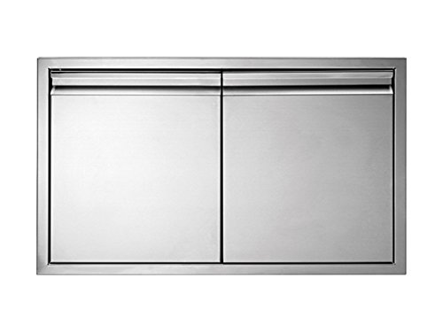 Get Quotations · 304 Stainless Steel Insulated Double Access Doors In Heavy  Duty 36 Inch By 19