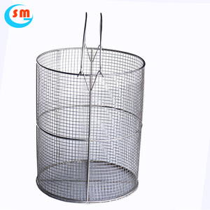 Elongation Square Hole Shape Wire Mesh Screen Metal Storage Basket