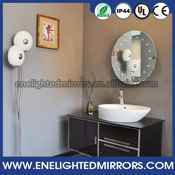 Trade Assurance Order ENE led mirror IP44 fluorescent tube bathroom mirror light made in china