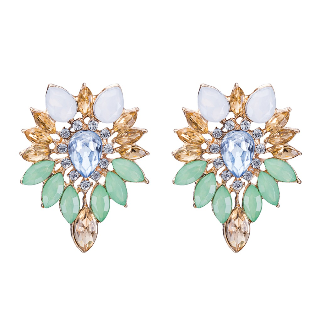 Kashmiri Jhumka Earrings Tanishq Designs For Women Druzy Product On
