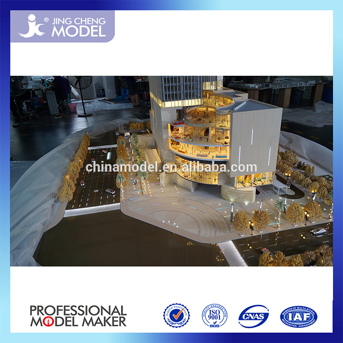 Commercial scale models/led light/illuminated/architectural model for sell ing of Madagascar